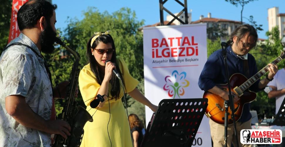 Ataşehir'in parklarındaki etkinlikler devam ediyor!