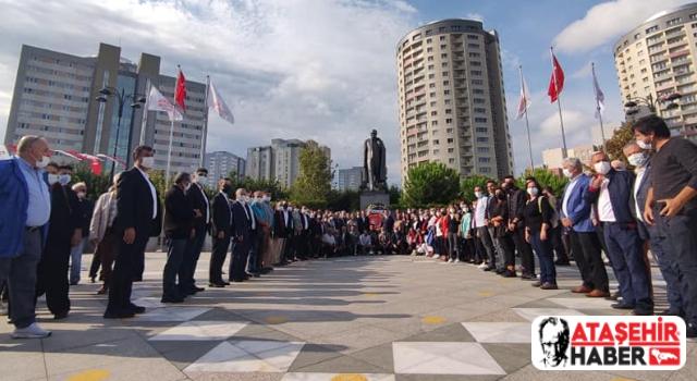 CHP'nin Kuruluşu'nun 98'nci Yıl Dönümü Ataşehir'de Kutlandı