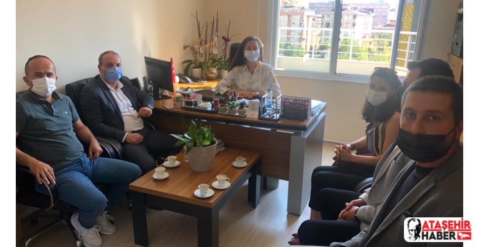 MHP Ataşehir'den Gençlik ve Spor Müdürlüğüne Hayırlı Olsun Ziyareti