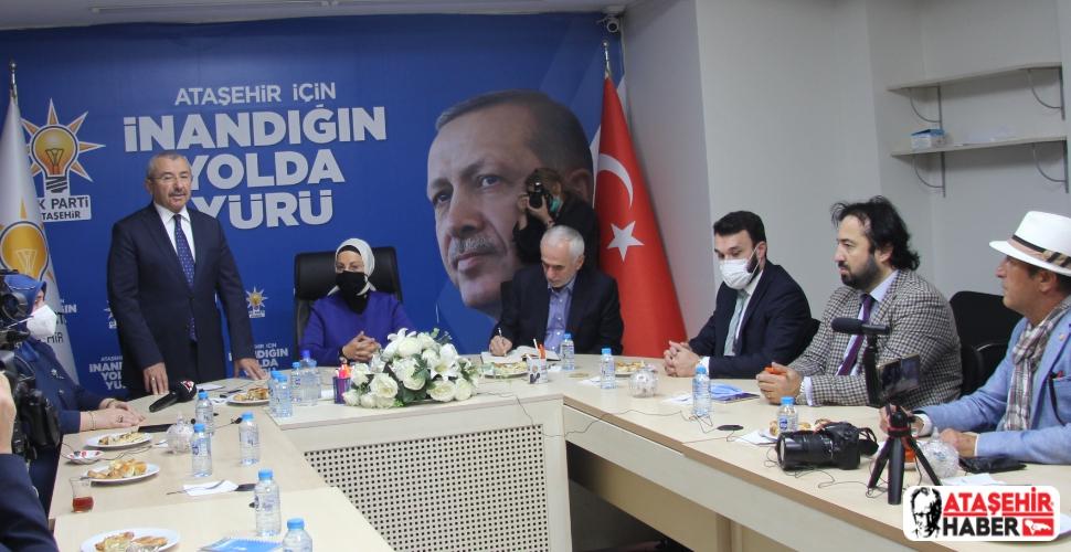 AK Parti Ataşehir, Basın Buluşmalarını Sürdürüyor!