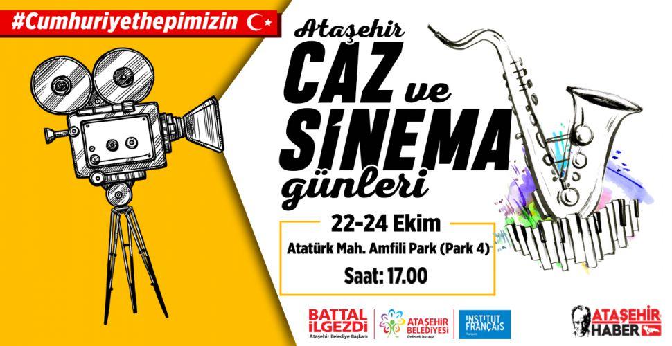 Ataşehir'de Caz ve Sinema Günleri Ataşehirlilerle Buluşuyor