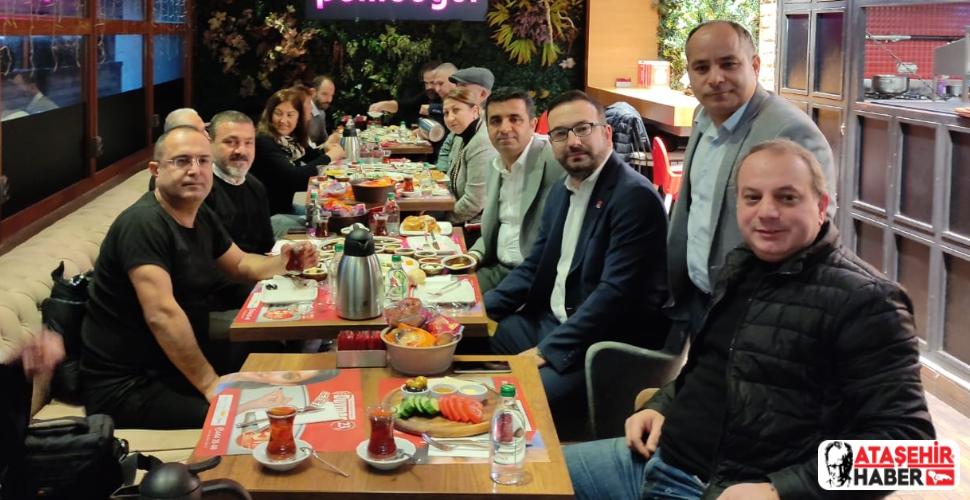 İçerenköy Derneği Yönetimi Pandemi Molasına Kahvaltı ile Ara Verdi!
