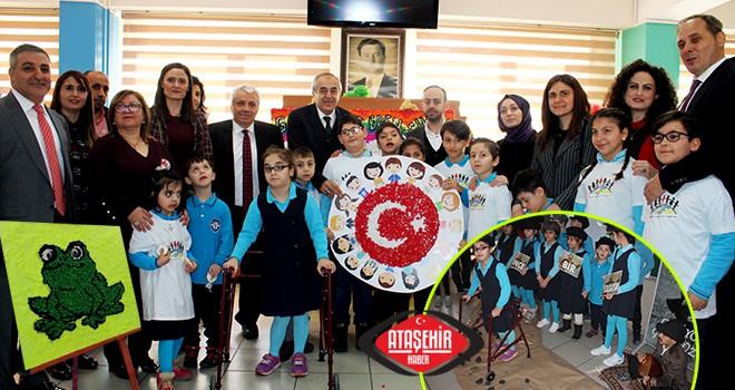 Ataşehir'li özel eğitim öğrencileri 'Bende Varım' dedi