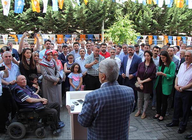 AK Parti Ataşehir İlçe Başkanlığı'nda Bayramlaşma Gerçekleşti