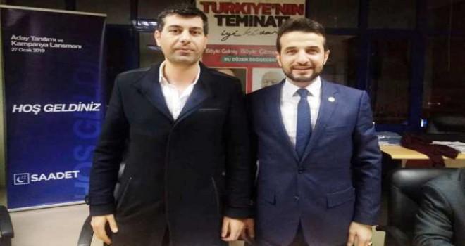 Saadet Partisi Ataşehir'de Görev Değişimi