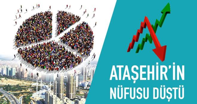 Ataşehir'in Nüfusu Düştü