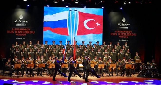 'Aleksandrov Rus Kızılordu Korosu' Yarın Ataşehir'de