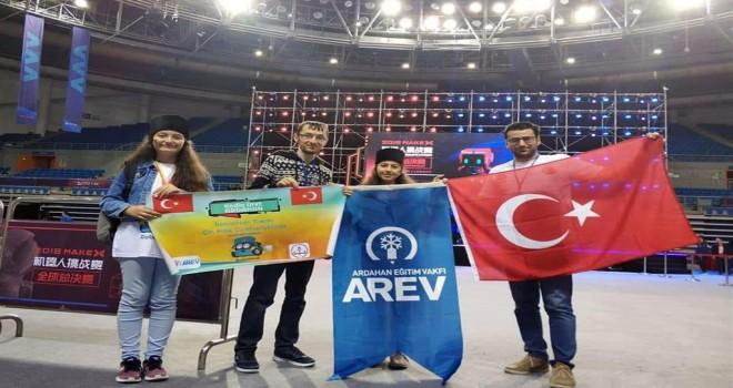 Ardahan'lı Kızlar Türkiye'yi Gururlandırdı