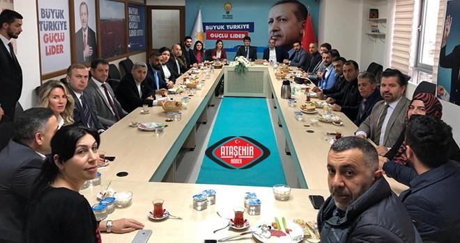 Cumhur İttifakı tarafları kahvaltılı toplantı da bir araya geldiler