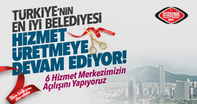 Ataşehir Toplu Açılışa Hazırlanıyor