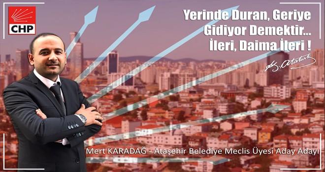 Ataşehir Belediye Meclisi'ne Genç Aday Mert Karadağ!