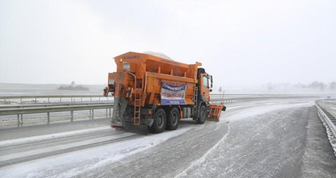 İBB Personel ve Araçlarıyla Kışa Hazır