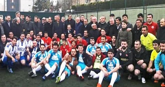 4.Çerkeş Futbol Turnuvası Coşkuyla Ataşehir'de Başladı
