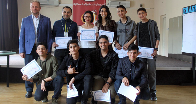Cahit Zarifoğlu Anadolu İmam Hatip Lisesi Erasmus+ Proje Kapsamında Romanya'ya Gitti