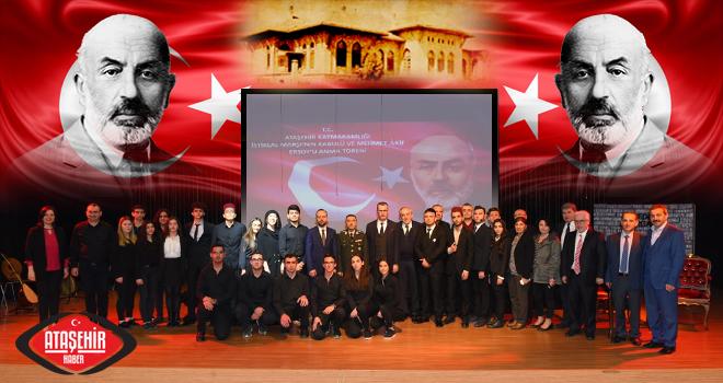 İstiklal Marşı'nın Kabulü'nün 98.Yılı Ataşehir'de Kutlandı