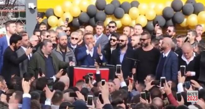Sedat Peker, Ataşehir'de İşletme Açılışına Katıldı