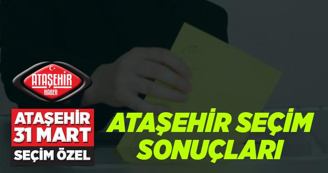 Ataşehir Yerel Seçim Sonuçları!