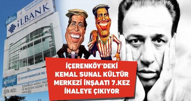 İçerenköy Kemal Sunal Kültür Merkezi İnşaatı 7.Kez İhaleye Çıkıyor