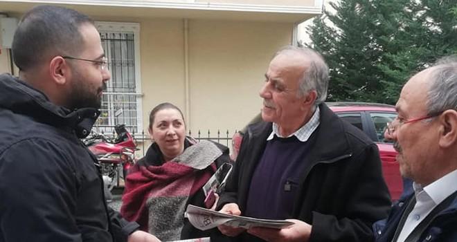 CHP Ataşehir'den Eş Zamanlı Yeni Yıl Çalışması