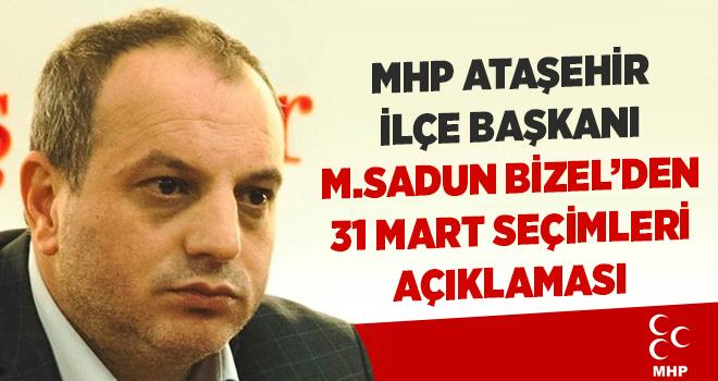 MHP Ataşehir İlçe Başkanlığı'ndan açıklama