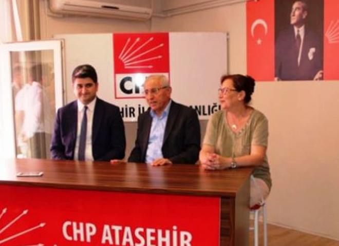 CHP Ataşehir'de Bayramlaşma