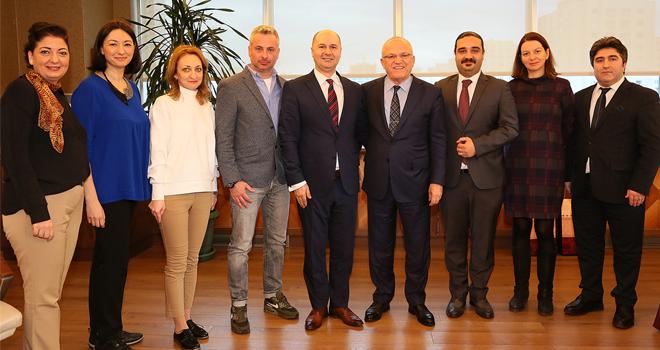 Romanyalı Konuklardan Ataşehir Belediyesine Ziyaret