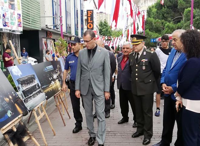 Ataşehir'de 15 Temmuz Demokrasi Sergisi Açıldı