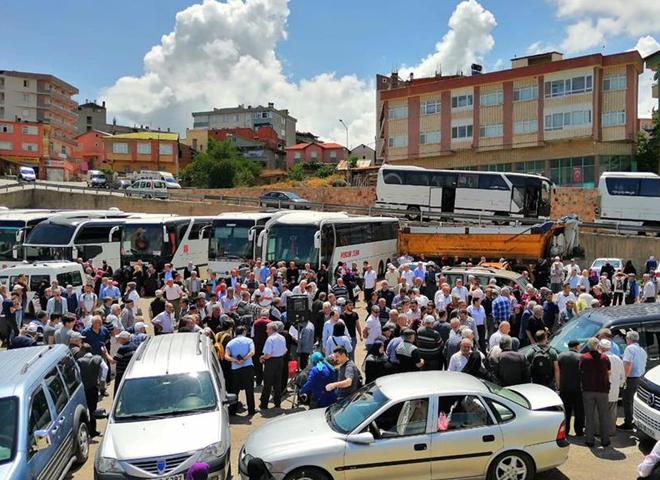 Memleketlerden Seçim Dönüşleri Başladı! Sivas'ta yaklaşık 250 otobüs hareket etti...