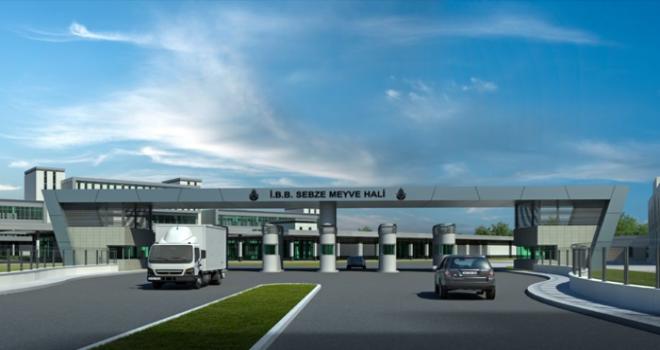 Ataşehir'deki Hal'in 2020'nin sonunda taşınması hedefleniyor