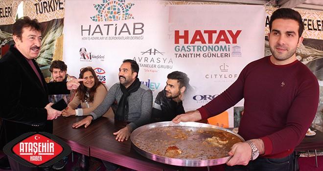Ataşehir'de renkli yarışma'da künefeyi en hızlı yiyen ödülü kazandı