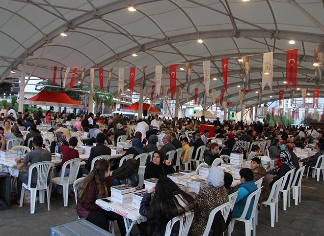 Esatpaşa'da STK ve Halk İftar'da Buluştu