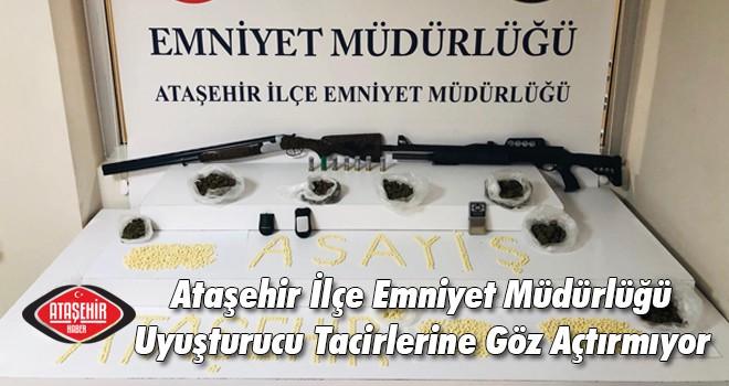 Ataşehir İlçe Emniyet Müdürlüğü Uyuşturucu Tacirlerine Göz Açtırmıyor