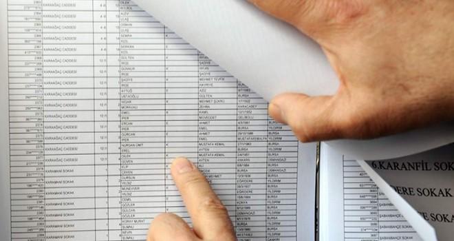 31 Mart Seçimleri için Seçmen Listeleri Muhtarlıklarda Askıya Çıktı