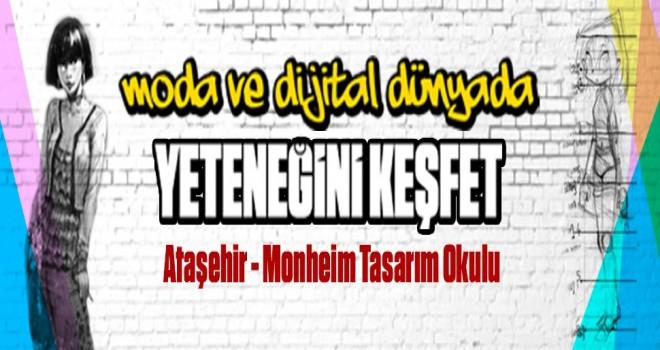 Ataşehir Monheim Tasarım Okulunda Eğitimler Başlıyor