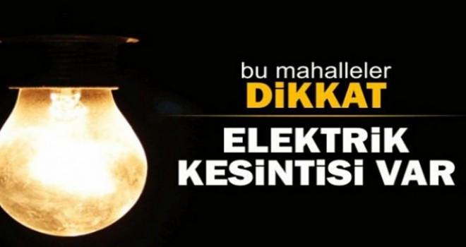 Ataşehir'de Bugün 3 Mahalle'de Planlı Elektrik Kesintisi Yapılacak