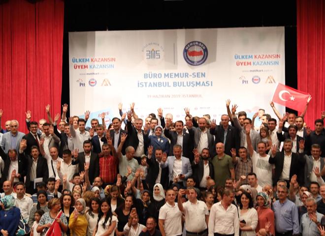 Büro Memur-Sen İstanbul Buluşması Ataşehir'de Gerçekleşti