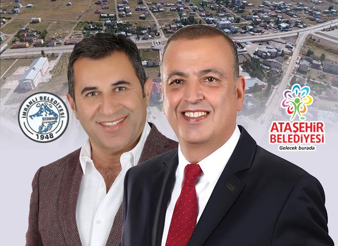 Ataşehir Belediyesi ile İmranlı Belediyesi Kardeş Belediye Oldu