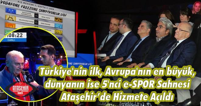 Türkiye'de bir ilk olan E-Spor Sahnesi Ataşehir'de Açıldı