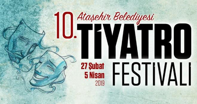 Ataşehir Tiyatro Festivali 10.Yılında Tiyatro Severlerle Buluşuyor