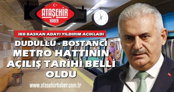 Ataşehir'den geçen Dudullu-Bostancı Metro hattı ne zaman açılacak? İşte ayrıntılar