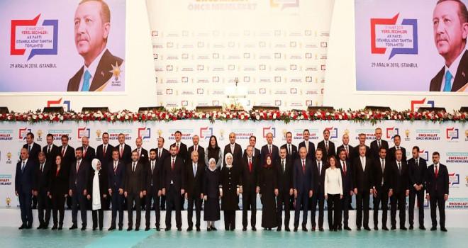 Cumhurbaşkanı Erdoğan İstanbul Adaylarını Açıkladı! İşte tam liste...