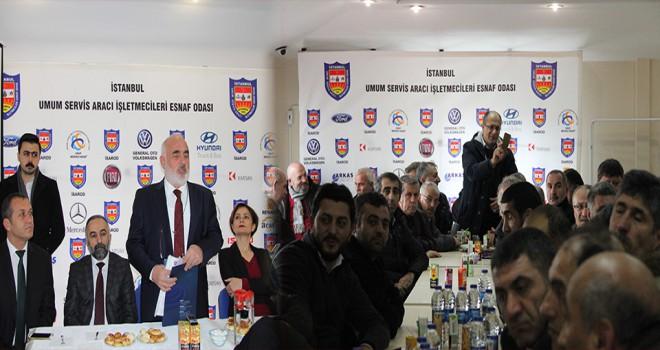 Kaftancıoğlu, Ataşehir'de Servisçilere CHP'nin Çözüm Planlarını Anlattı