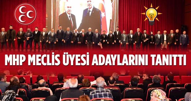 MHP Ataşehir, Cumhur İttifakı Meclis Üyesi Adaylarını Törenle Tanıttı