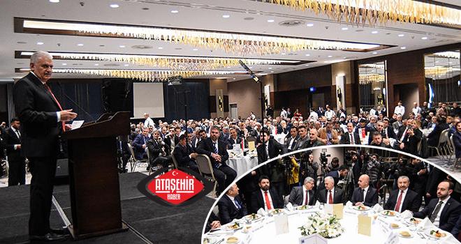 Binali Yıldırım,  Ataşehir'de İş Dünyası ile Buluştu