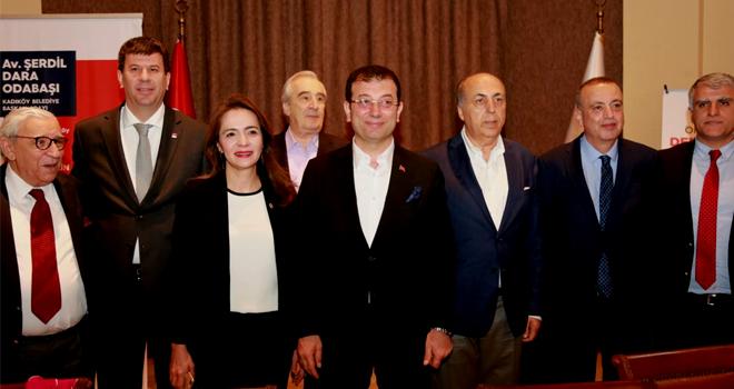 Ekrem İmamoğlu, Ataşehir'de Mardinlilerle Buluştu