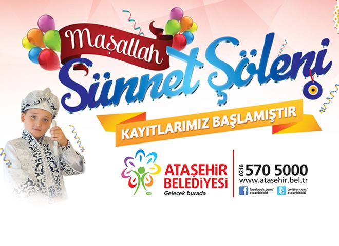 Ataşehir Belediyesi 'Sünnet' için başvuruları başlattı