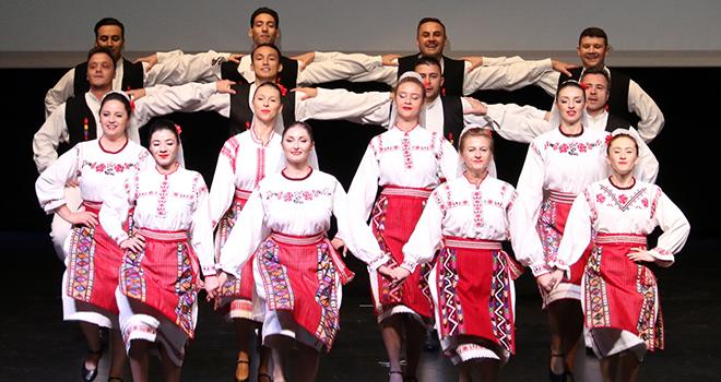 Kültürlerin Kardeşliğini Dansın Dili ile Anlattılar