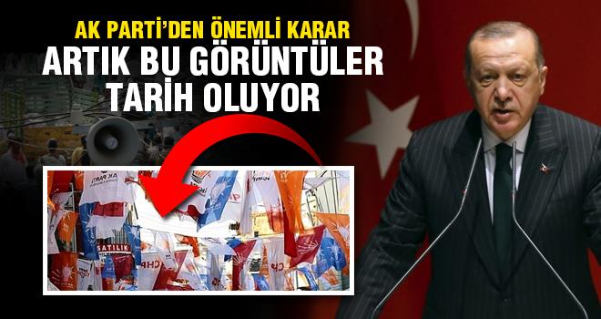 AK Parti açıkladı: Seçimlerde gürültü ve görüntü kirliliği tarih oluyor!