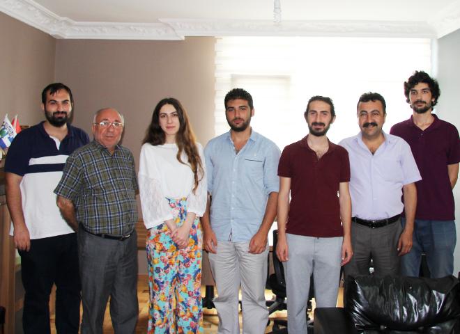 Genç Kızılay Ataşehir Şubesi'nden Gazetemize Anlamlı Ziyaret