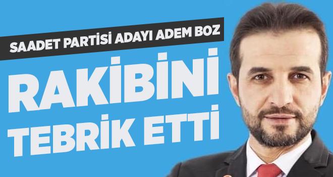 Adem Boz, 31 Mart Seçimleri Sonucuna Göre Rakibi Battal İlgezdi'yi tebrik etti